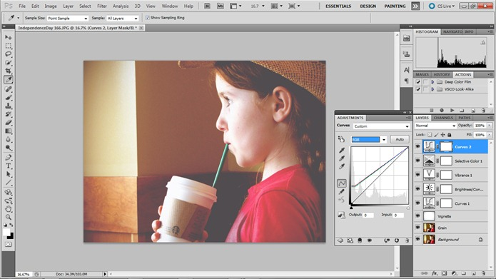 Hannah Rose Beasley | Blog » How to Get the VSCO Look in Photoshop