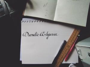 Hand Lettering >>> Hannah Rose Beasley Art & Design