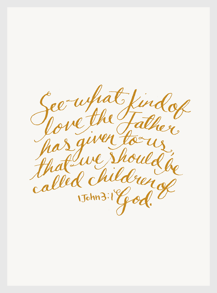 Children of God Print for Overcome the Lie / Hannah Rose Beasley