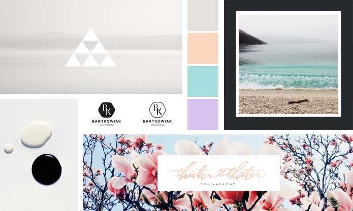 Clean + Simple Client Mood Board : Hannah Rose Beasley