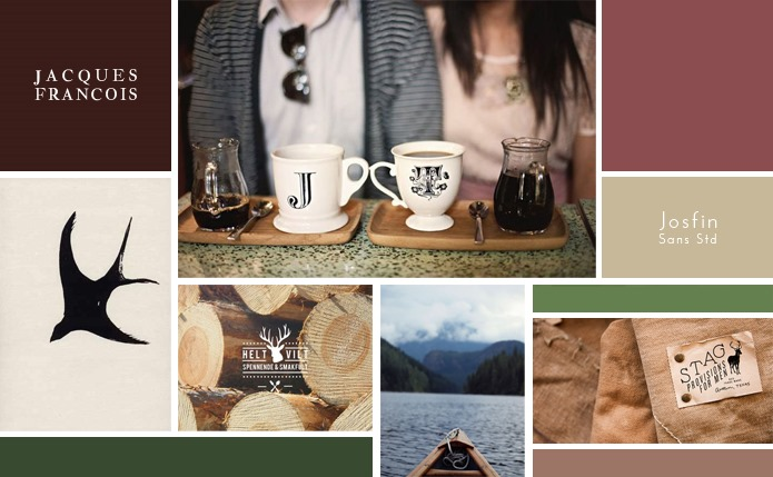 Warm and Rustic Mood Board : Hannah Rose Beasley