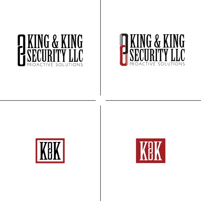 King & King Security LLC : Visual Identity : Hannah Rose Beasley