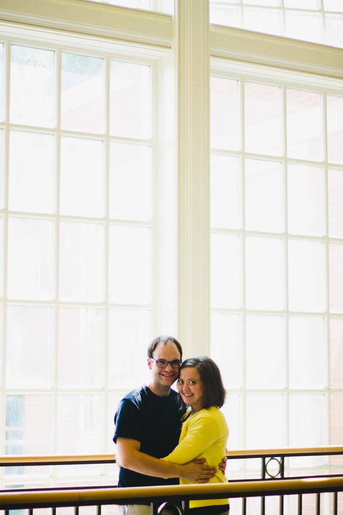 Woody + Amy : Engaged : Hannah Rose Beasley Art & Design